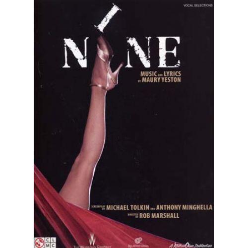 CHERRY LANE YESTON MAURY - NINE MOVIE VOCAL SELECTIONS - PVG
