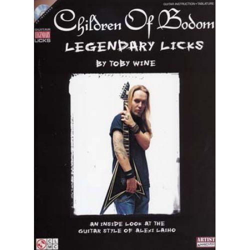 CHERRY LANE CHILDREN OF BODOM - LEGENDARY LICKS + CD - GUITAR TAB