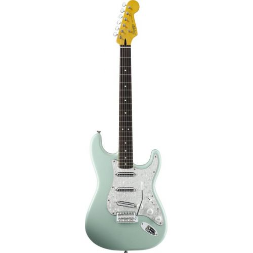 SQUIER BY FENDER STRATOCASTER SURF GREEN VINTAGE MODIFIED