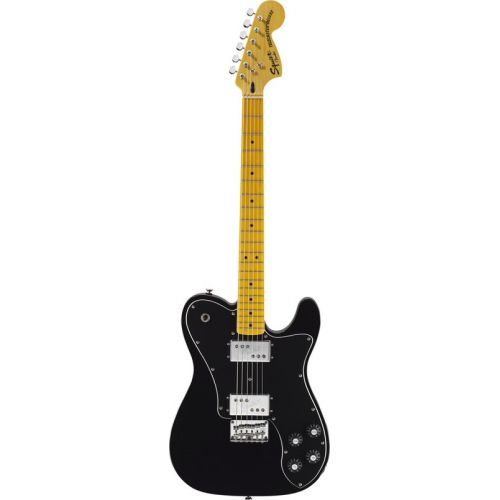 SQUIER BY FENDER TELECASTER BLACK VINTAGE MODIFIED