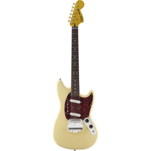 SQUIER BY FENDER MUSTANG VINTAGE WHITE VINTAGE MODIFIED