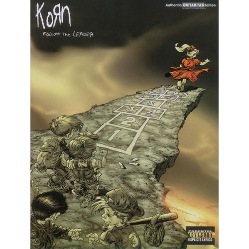 ALFRED PUBLISHING KORN - FOLLOW THE LEADER - GUITAR TAB