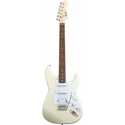 SQUIER BY FENDER STRATOCASTER HSS ARCTIC WHITE BULLET