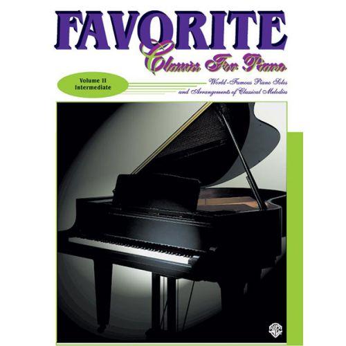 ALFRED PUBLISHING FAVOURITE CLASSICS VOL2 + CD - PIANO