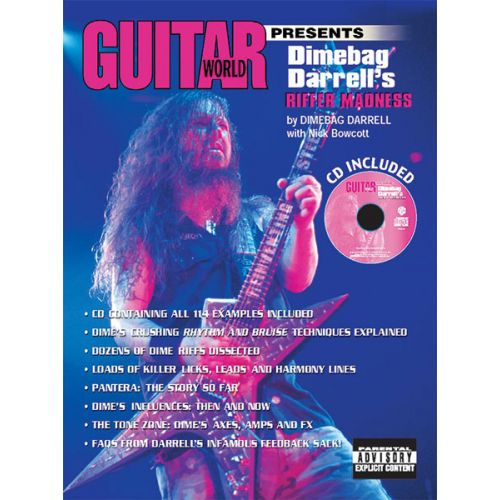 ALFRED PUBLISHING DIMEBAG DARRELL RIFFER MADNESS - GUITAR