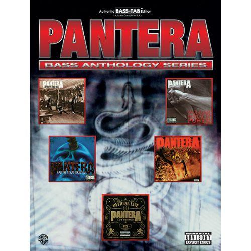 ALFRED PUBLISHING PANTERA - PANTERA BASS ANTHOLOGY - BASS GUITAR TAB