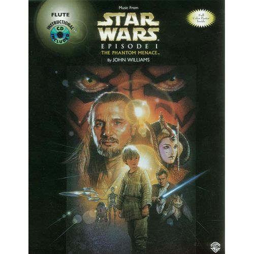 ALFRED PUBLISHING WILLIAMS JOHN - STAR WARS I: PHANTOM MENACE + CD - FLUTE