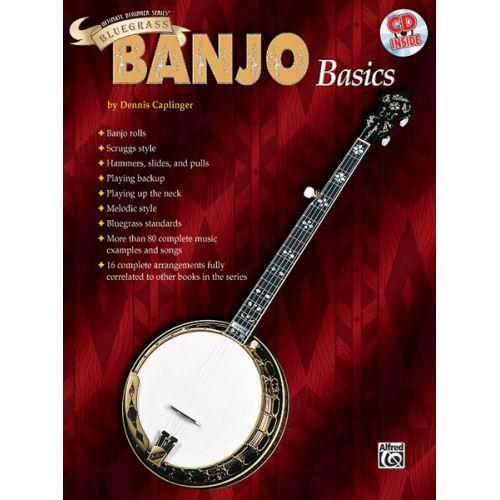 ALFRED PUBLISHING ULTIMATE BEGINNER SERIES : BLUEGRASS BANJO BASICS - GUITAR