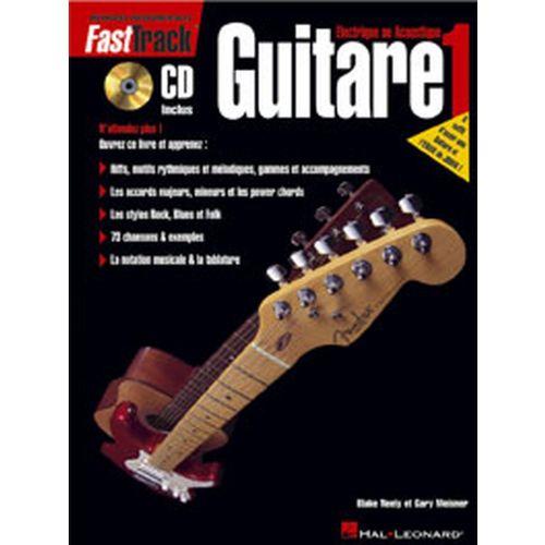 HAL LEONARD FAST TRACK GUITARE VOL.1 + CD