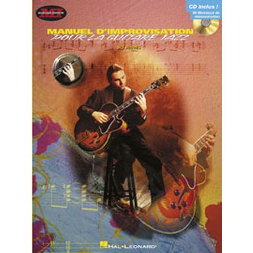 HAL LEONARD JACOBS SID - MANUEL D'IMPROVISATION POUR LA GUITARE JAZZ + CD