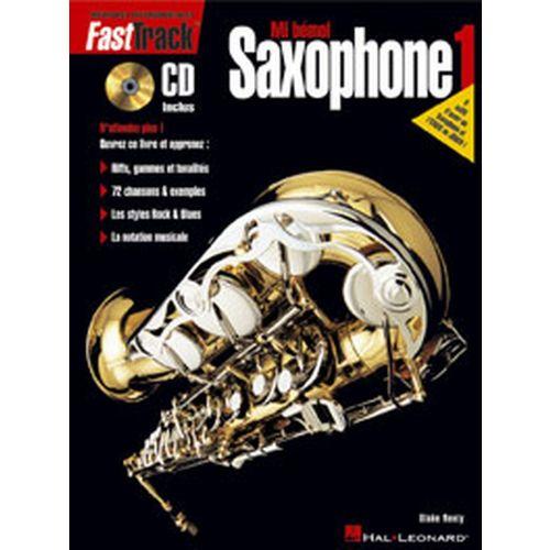 HAL LEONARD FAST TRACK SAXOPHONE VOL.1 + CD
