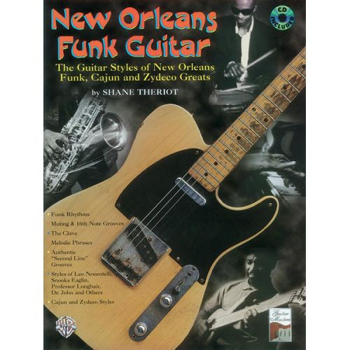ALFRED PUBLISHING NEW ORLEANS FUNK GUITAR - GUITAR