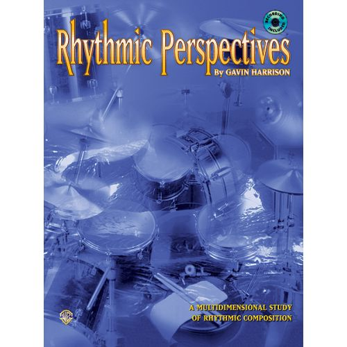 ALFRED PUBLISHING RHYTHMIC PERSPECTIVES + CD - DRUMS & PERCUSSION