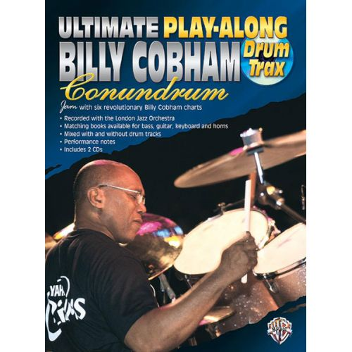 ALFRED PUBLISHING COBHAM BILLY - CONUNDRUM + CD - DRUMS & PERCUSSION