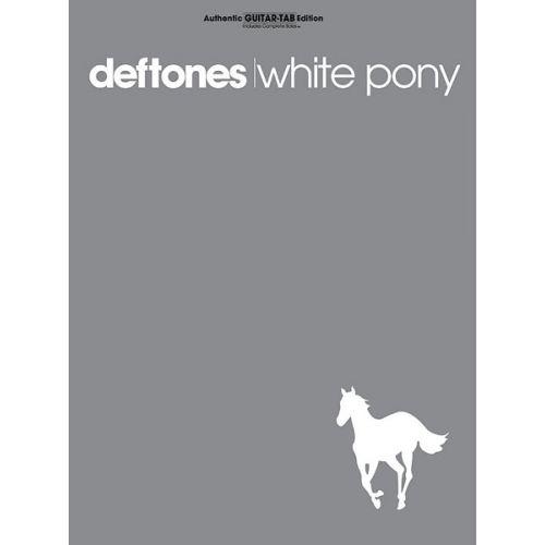 ALFRED PUBLISHING DEFTONES - WHITE PONY - GUITAR TAB