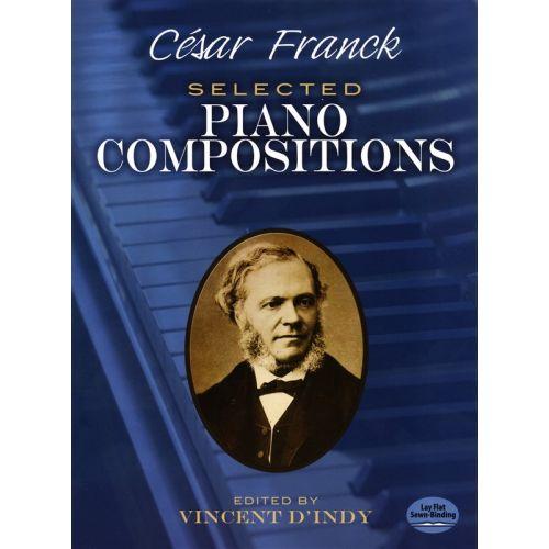 DOVER CESAR FRANCK SELECTED PIANO COMPOSITIONS - PIANO SOLO