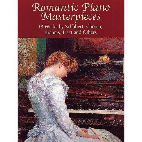 DOVER ROMANTIC PIANO PIECES - PIANO SOLO