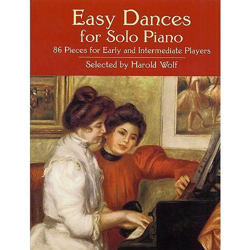 DOVER EASY DANCES FOR PIANO SOLO - PIANO SOLO