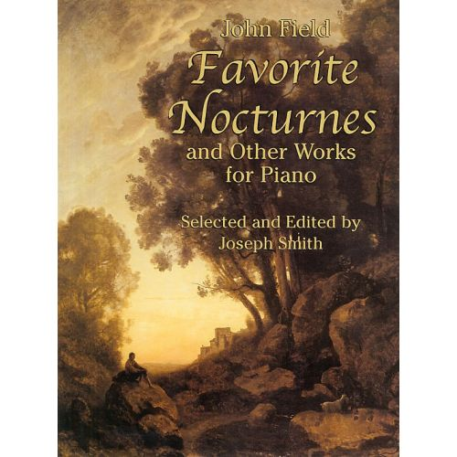 DOVER JOHN FIELD FAVORITE NOCTURNES AND OTHER WORKS- PIANO SOLO