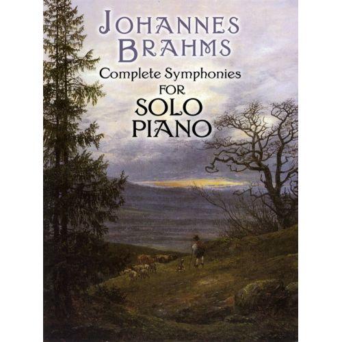 DOVER BRAHMS JOHANNES - COMPLETE SYMPHONIES - PIANO SOLO