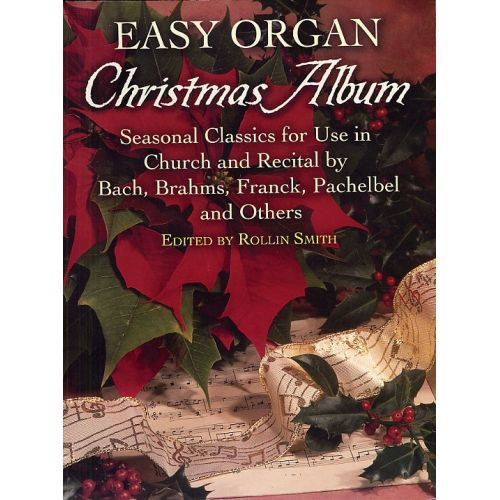 DOVER EASY ORGAN CHRISTMAS ALBUM - ORGAN
