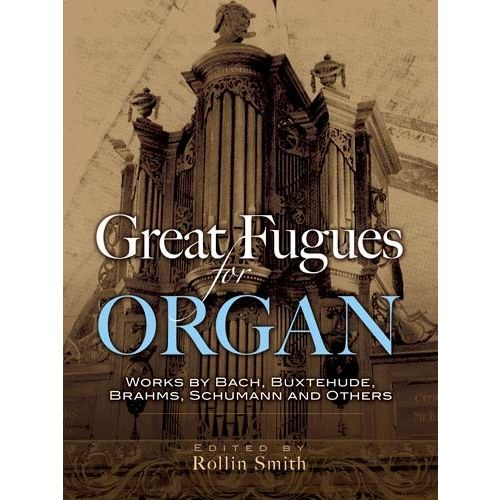DOVER GREAT FUGUES FOR ORGAN - ORGAN