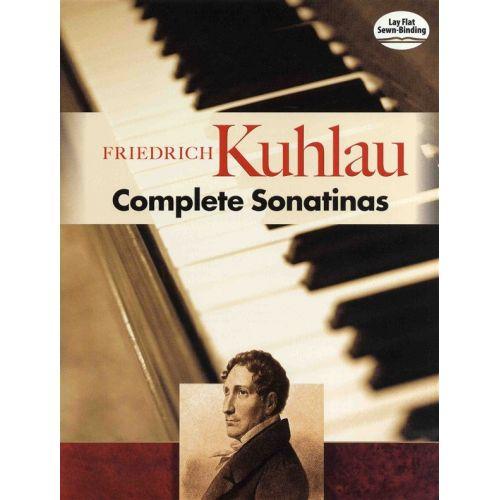 DOVER FRIEDRICH KUHLAU COMPLETE SONATINAS SCORE - PIANO SOLO