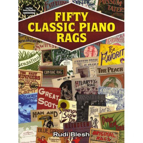 DOVER FIFTY CLASSIC PIANO RAGS - PIANO SOLO