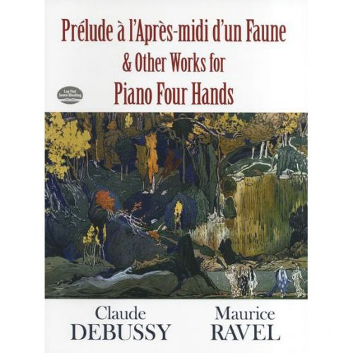 DOVER DEBUSSY CLAUDE PRELUDE A L'APRES-MIDI DU'UN FAUNE - PIANO DUET