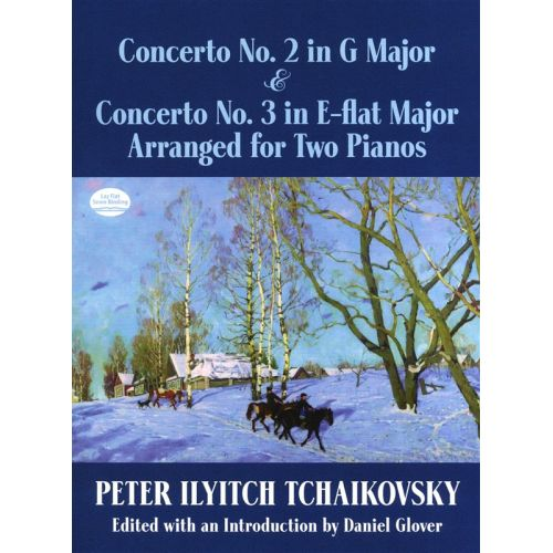 DOVER TCHAIKOVSKY - CONCERTO NO.2 IN G AND CONCERTO NO.3 IN E FLAT - PIANO DUET