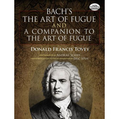 DOVER BACH JS THE ART OF FUGUE AND A COMPANION TO THE ART OF FUGUE - ORGAN