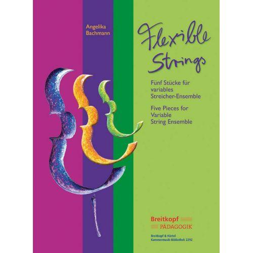 EDITION BREITKOPF BACHMANN A. - FLEXIBLE STRINGS + CD - STRING ENSEMBLE