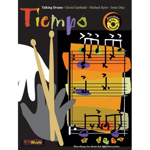 ALFRED PUBLISHING TIEMPO + 2CD - DRUMS & PERCUSSION