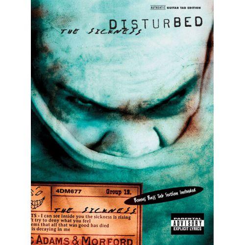 ALFRED PUBLISHING DISTURBED - SICKNESS - GUITAR TAB