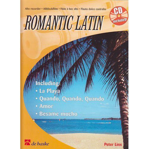 DEHASKE LINX P. - ROMANTIC LATIN - FLB ALTO + CD