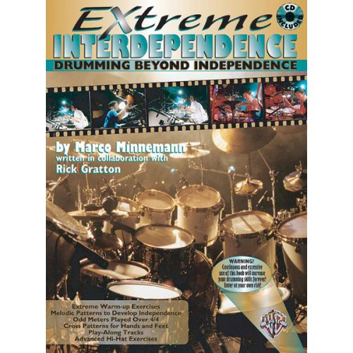 ALFRED PUBLISHING MINNEMANN MARCO - EXTREME INTERDEPENDENCE + CD - DRUMS & PERCUSSION