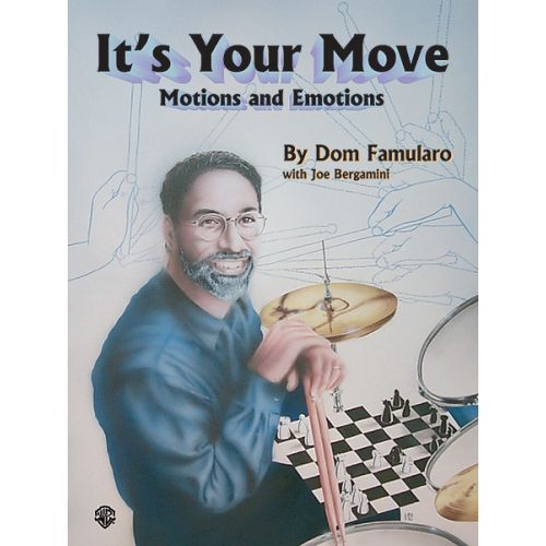 ALFRED PUBLISHING IT'S YOUR MOVE - DRUMS & PERCUSSION
