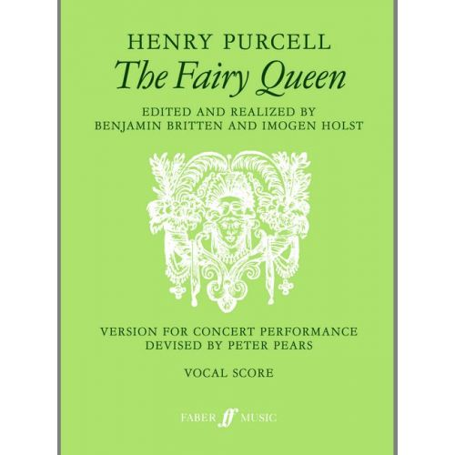 FABER MUSIC PURCELL HENRY - FAIRY QUEEN, THE - VOCAL SCORE (PER 10 MINIMUM)
