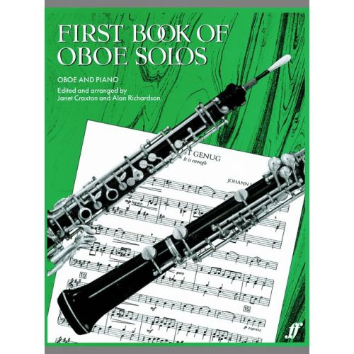 FABER MUSIC CRAXTON J / RICHARDSON A - FIRST BOOK OF OBOE SOLOS - OBOE AND PIANO
