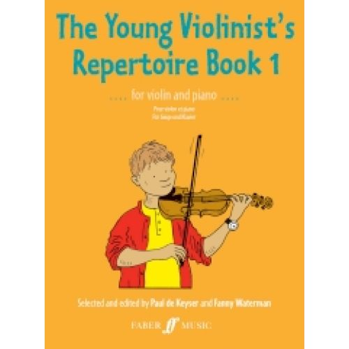 FABER MUSIC THE YOUNG VIOLINIST'S REPERTOIRE BOOK 1