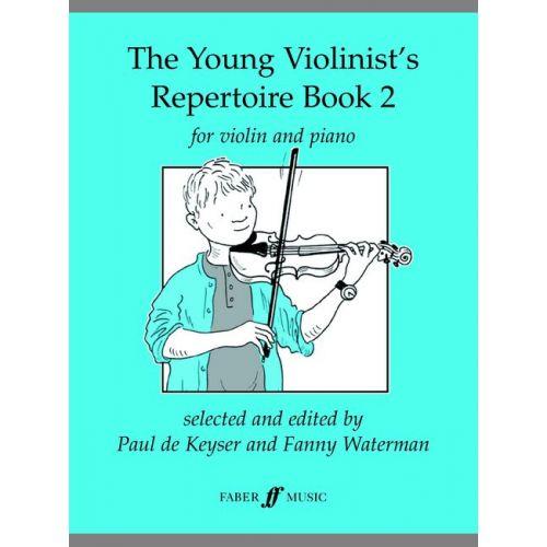 FABER MUSIC DE KEYSER PAUL - YOUNG VIOLINIST'S REPERTOIRE BOOK 2 - VIOLIN
