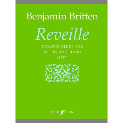 FABER MUSIC BRITTEN BENJAMIN - REVEILLE - VIOLIN AND PIANO