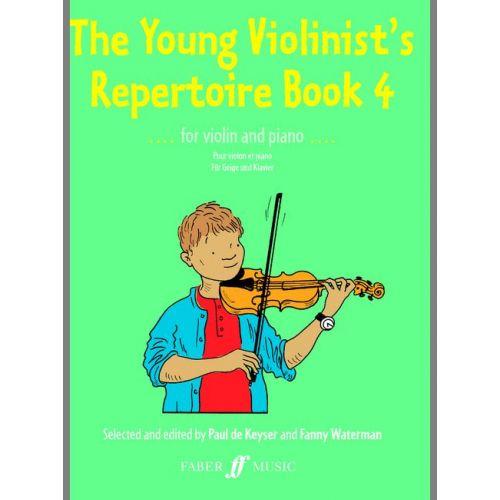 FABER MUSIC DE KEYSER PAUL - YOUNG VIOLINIST'S REPERTOIRE BOOK 4 - VIOLIN