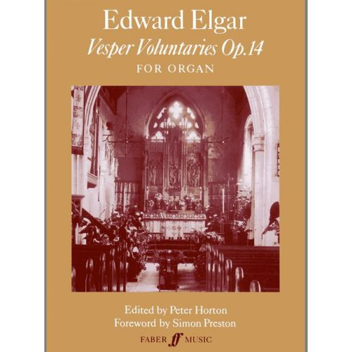 FABER MUSIC ELGAR EDWARD - ELEVEN VESPER VOLUNTARIES - ORGAN