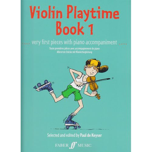 FABER MUSIC VIOLIN PLAYTIME BOOK 1