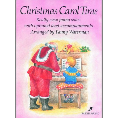 FABER MUSIC WATERMAN FANNY - CHRISTMAS CAROL TIME - PIANO