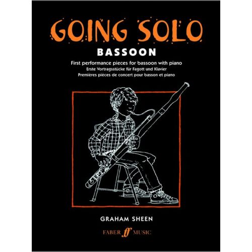 FABER MUSIC SHEEN GRAHAM - GOING SOLO - BASSOON AND PIANO