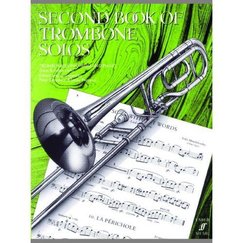 FABER MUSIC GOODWIN P / PEARSON L - SECOND BOOK OF TROMBONE SOLOS (COMPLETE) - TROMBONE AND PIANO
