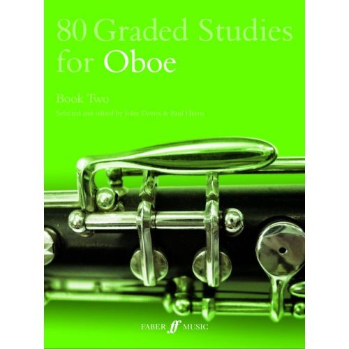 FABER MUSIC DAVIES J / HARRIS P - 80 GRADED STUDIES FOR OBOE BOOK 2 - OBOE