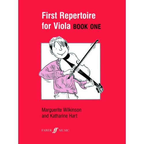 FABER MUSIC WILKINSON M / HART K - FIRST REPERTOIRE FOR VIOLA BOOK 1 - VIOLA AND PIANO
